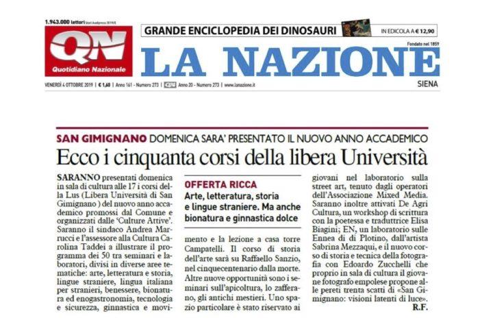 2019.10.04_LaNazioneSiena_San Gimignano